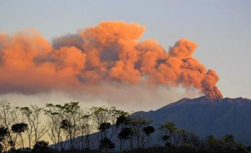 Gunung Gamalama. (Foto: Okezone)
