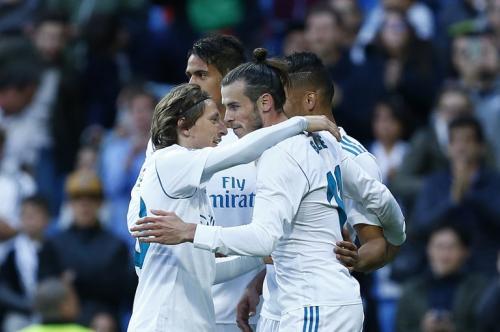 Gareth Bale saat membela Madrid