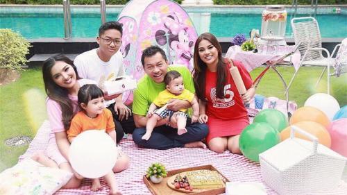 Anang, Ashanty, dan anak-anak mereka