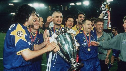 Juventus juara Liga Champions 1996