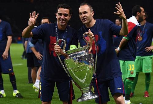 Xavi dan Iniesta