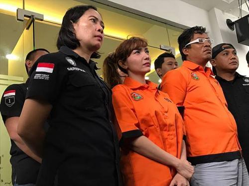 Roro Fitria berharap Majelis Hakim bisa mengabulkan PK yang diajukannya. (Foto: Okezone)