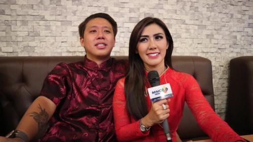 Pada Kamis (11/7/2019), Rey Utami dan Pablo Benua ditetapkan sebagai tersangka kasus ikan asin yang melibatkan Galih Ginanjar. (Foto: MNCTV)