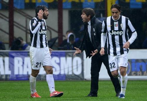Andrea Pirlo pernah merasakan tangan dingin Antonio Conte
