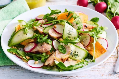 Salad sayur. (Foto: Taste)