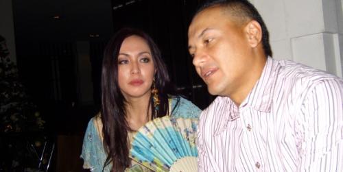 Angelina Sondakh dan Adjie Massaid