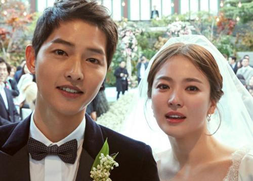 Pernikahan Song Joong Ki dan Song Hye Kyo