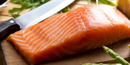 ikan salmon enak