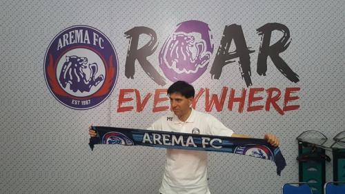 Milan Petrovic diperkenalkan pada 2018 (Foto: Arema FC)