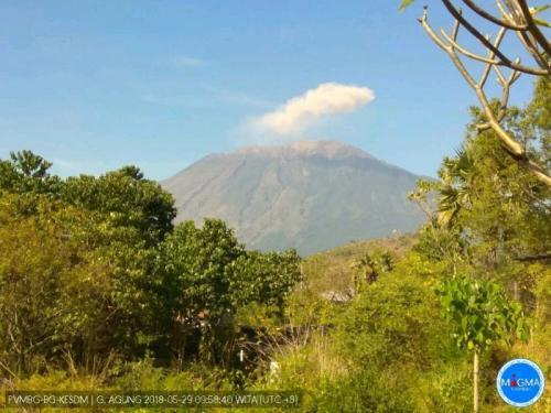 Gunung Agung Erupsi (foto: Dok PVMBG-BG-KESDM)