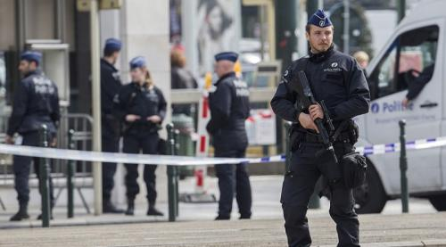 Polisi Belgia (Reuters)