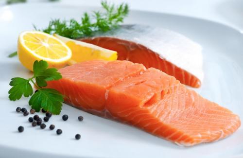 Salmon enak