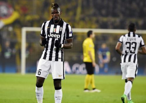 Paul Pogba kala membela Juventus