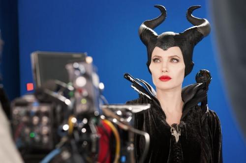 Angelina Jolie dalam aktingnya sebagai Maleficent. (Foto: Disney)