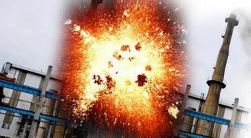 Illustrasi ledakan