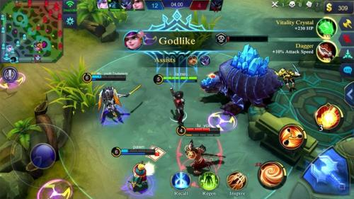 Kaesang Capai Savage dalam Game Mobile Legends