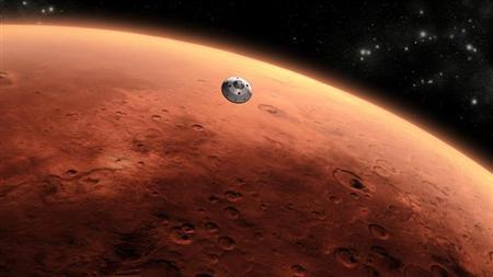 NASA Berhasil Simulasikan Cuaca di Mars