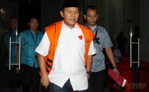 Bupati Lampung Tengah Mustafa. (Foto: Antara)