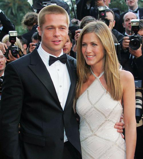 Jennifer Aniston dan Brad Pitt