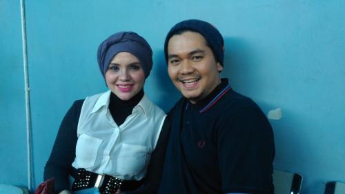 Indra Bekti dan istri