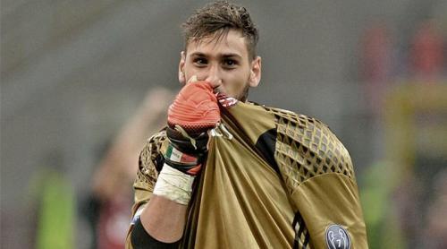 Donnarumma saat bela AC Milan