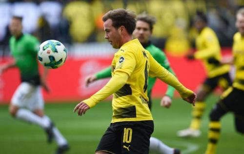 Pemain Borussia Dortmund, Mario Gotze