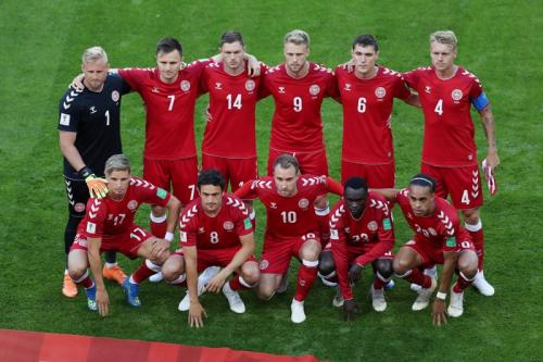 Timnas Denmark (Foto: Reuters)