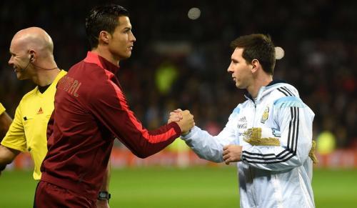 Cristiano Ronaldo dan Lionel Messi (Foto: AFP)