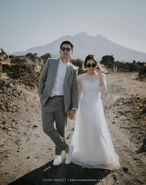 Rizky Alatas dan istri