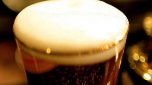 Ilustrasi minuman beer