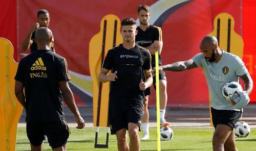 Thierry Henry menangani Timnas Belgia