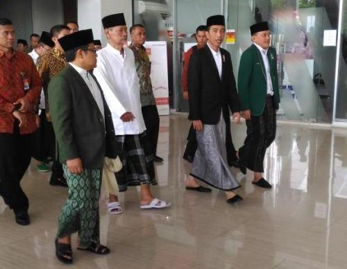 Cak Imin dengan Jokowi
