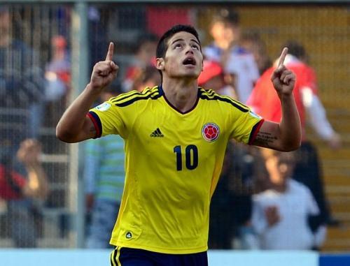 James Rodriguez (Foto: AFP)