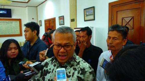 Ketua KPU Arief Budiman.