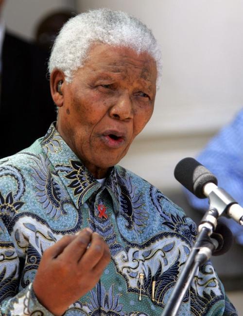 Nelson Mandela (IB Times)