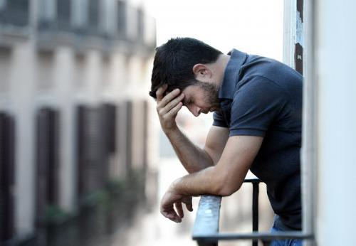 pria depresi