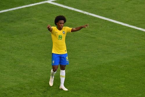 Willian Borges saat di Timnas Brasil