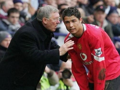 Sir Alex Ferguson dan C Ronaldo