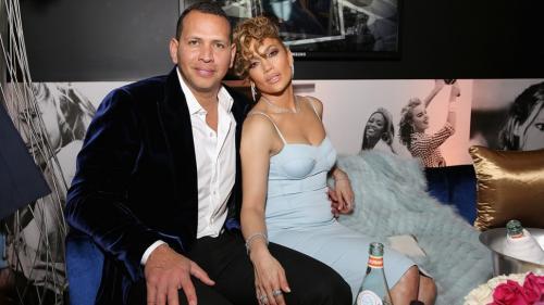 Jennifer Lopez dan Alex Rodriguez