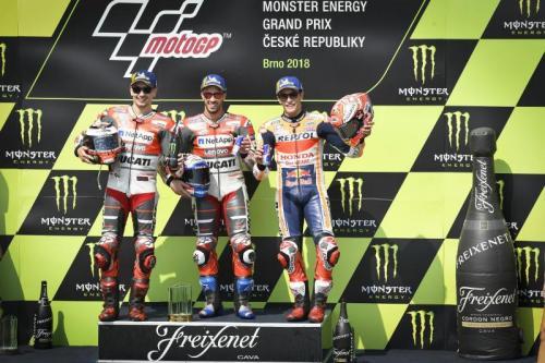 Jorge Lorenzo, Andrea Dovizioso, dan Marc Marquez
