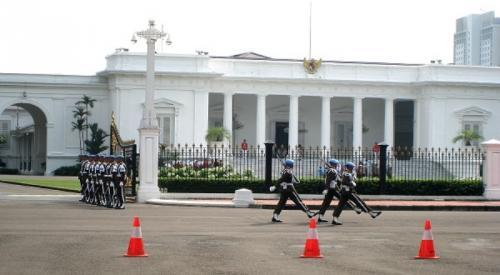 Ilustrasi Istana Merdeka