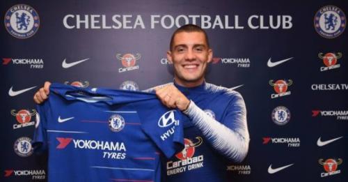 Kovacic saat pertama kali tiba di Chelsea