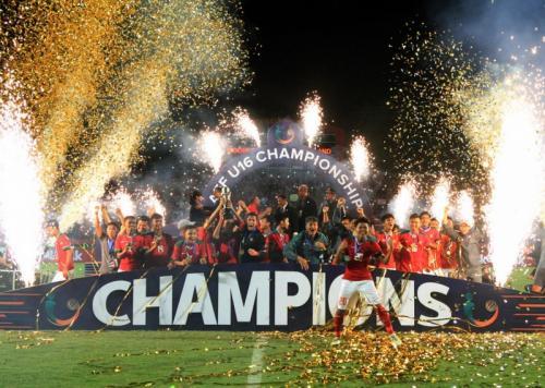 Timnas Indonesia U-16 juara