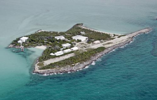 Ilustrasi pulau pribadi