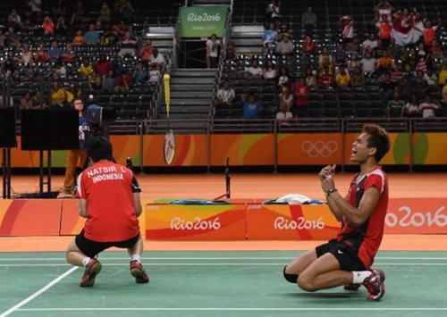 Tontowi/Lilyana di Olimpiade 2016 meraih medali emas