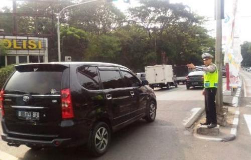 Ilustrasi situasi lalu lintas di Jakarta. (Foto: @TMCPoldaMetro)