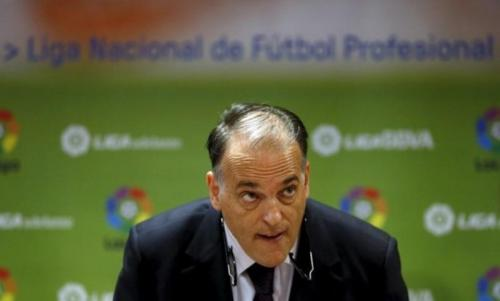 Presiden Liga Spanyol Javier Tebas menyebut penundaan El Clasico adalah masalah negara