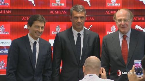 Leonardo, Maldini, dan Scaroni