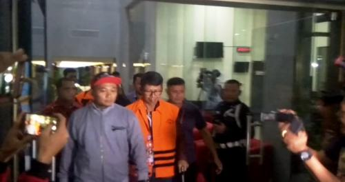 Mantan Kalapas Sukamiskin Wahid Husein. (Foto: Okezone.com)