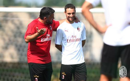 Pelatih AC Milan Gennaro Gattuso